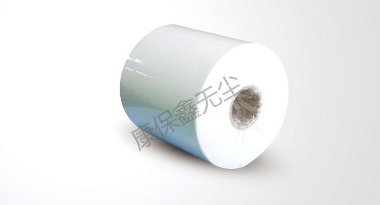 白色卷状无尘纸